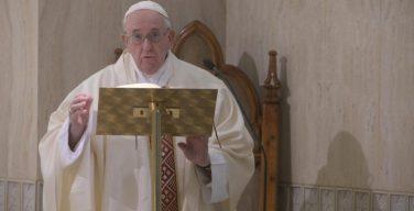 Папа Франциск на Мессе в Доме Святой Марфы молился о единстве Европы