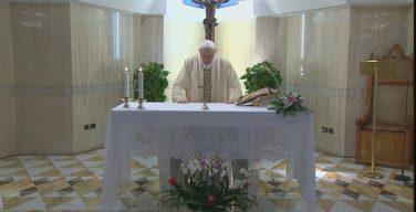 Папа Франциск на воскресной Мессе в Доме Святой Марфы размышлял о братстве в Боге Отце