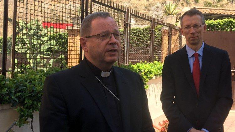 Папа Франциск встретился с президентом немецкого епископата