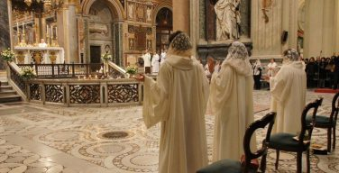Папа Франциск выступил с посланием по случаю 50-летия Чина посвящённых дев
