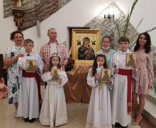 Первое Причастие в приходе Непорочного Сердца Пресвятой Девы Марии города Кемерово (+ФОТО)