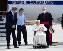 Бенедикт XVI вернулся из Германии в Ватикан