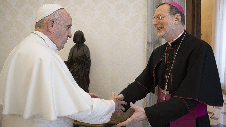 Бывший апостольский нунций на Украине стал апостольским нунцием в Великобритании