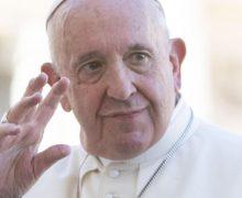 Папа Франциск передал около двух миллионов евро на борьбу в пандемией