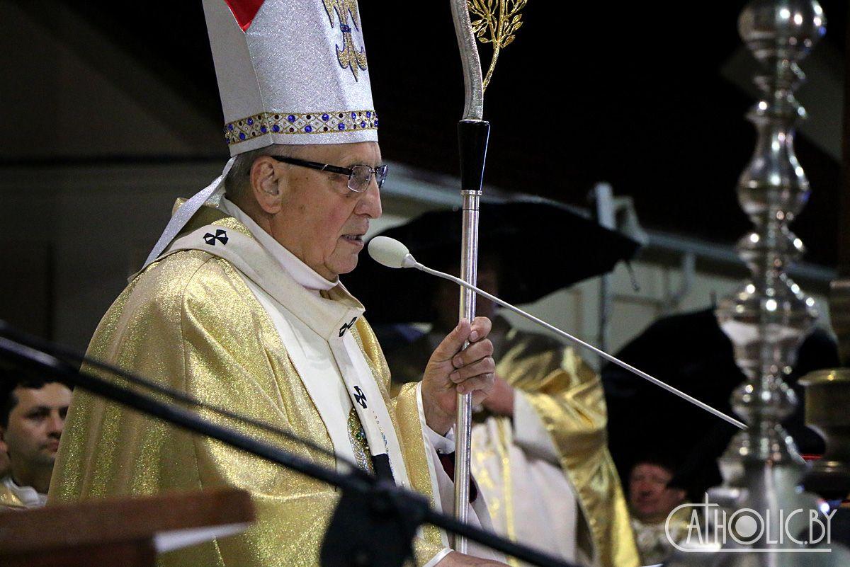 Обращение Председателя Конференции католических епископов Белоруссии митрополита Тадеуша Кондрусевича