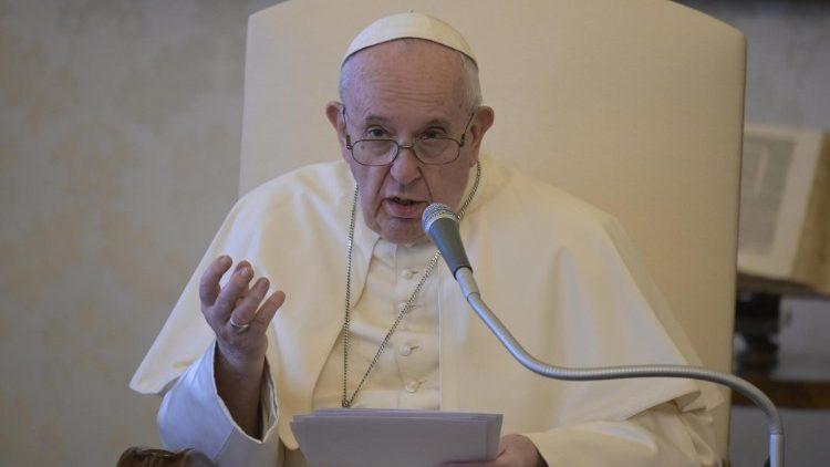 На общей аудиенции 19 августа Папа Франциск продолжил цикл своих размышлений о различных аспектах пандемии