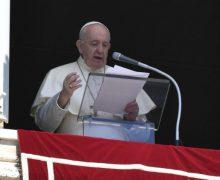 Слово Папы Франциска перед чтением молитвы «Ангел Господень» в 21-е Рядовое воскресенье. 23 августа 2020 г., площадь Св. Петра