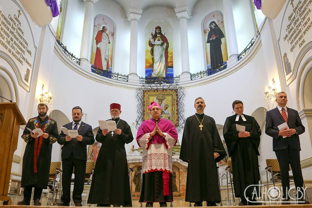 Архиепископ-митрополит Тадеуш Кондрусевич инициирует межрелигиозную молитву о мире в Белоруссии