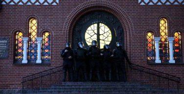 Белорусские католики заявили протест в связи с действиями ОМОН в Минске