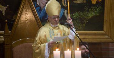 Проповедь Владыки Иосифа Верта на годовщину освящения Кафедрального собора Преображения Господня в Новосибирске