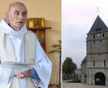 Во Франции почтили память Жака Амеля, католического священника, убитого исламистами