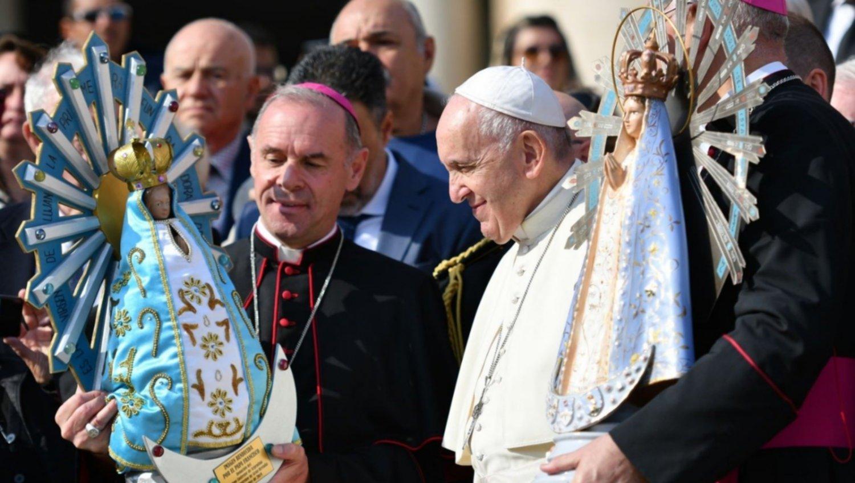 Папа Франциск: «Обними нас, о Матерь, мы хотим идти дальше»