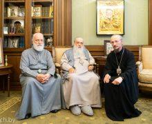 Патриарх Кирилл пожелал мудрости новому экзарху Белорусской Православной Церкви