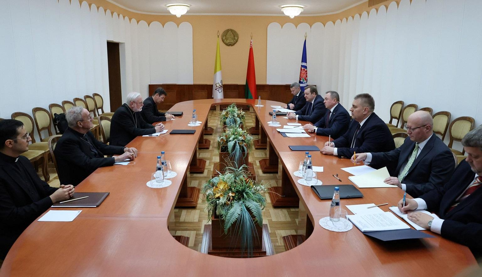 Подробности визита в Беларусь секретаря по связям с государствами Галлахера