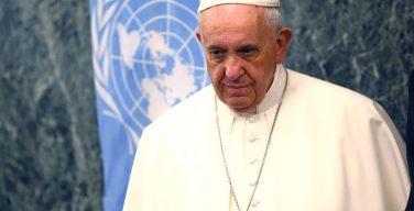 Видеопослание Папы Франциска по случаю 75-й годовщины ООН