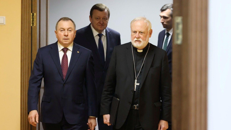 Визит архиепископа Галлахера — знак близости Папы к Белоруссии (ФОТО)