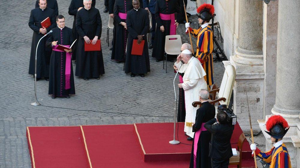 На очередной общей аудиенции Папа Франциск говорил о важности заботливого отношения к сотворенному миру