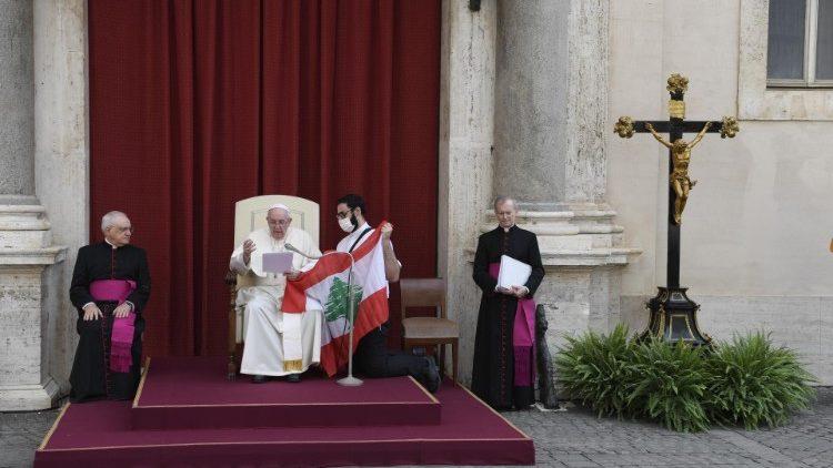 Папа Франциск объявил 4 сентября Днем молитвы и поста в намерении Ливана