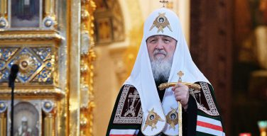 Патриарх Кирилл молится о мирном разрешении конфликта в Карабахе