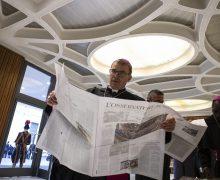 Обновлённая ежедневная газета Святейшего Престола снова выходит в печать