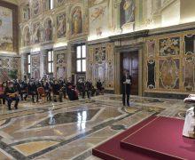 Папа Франциск встретился с делегатами благотворительного Общества Святого Петра
