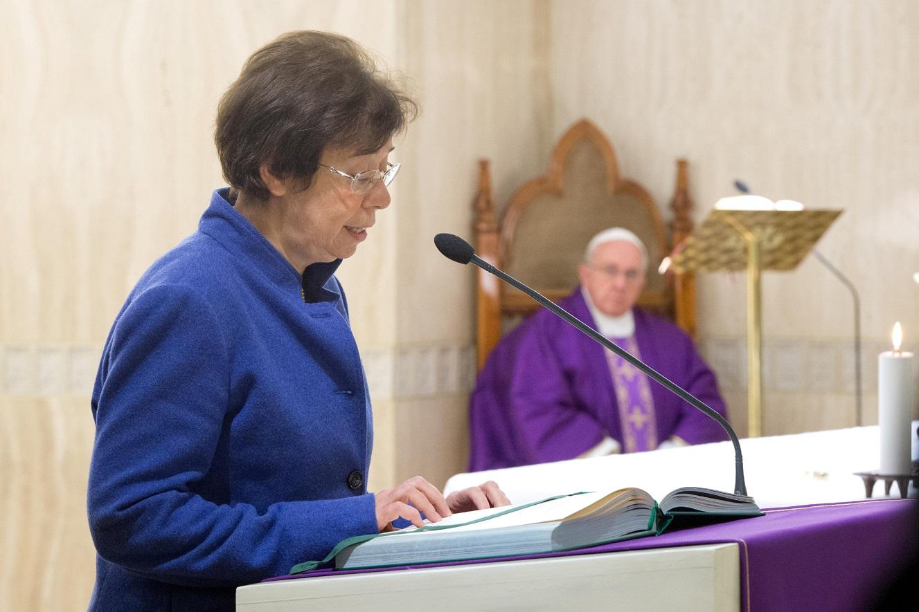 Папа: самореализация для женщины заключается в принятии и возвещении