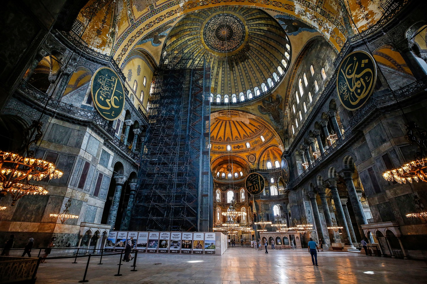 Москва признает право Турции определять статус собора Святой Софии