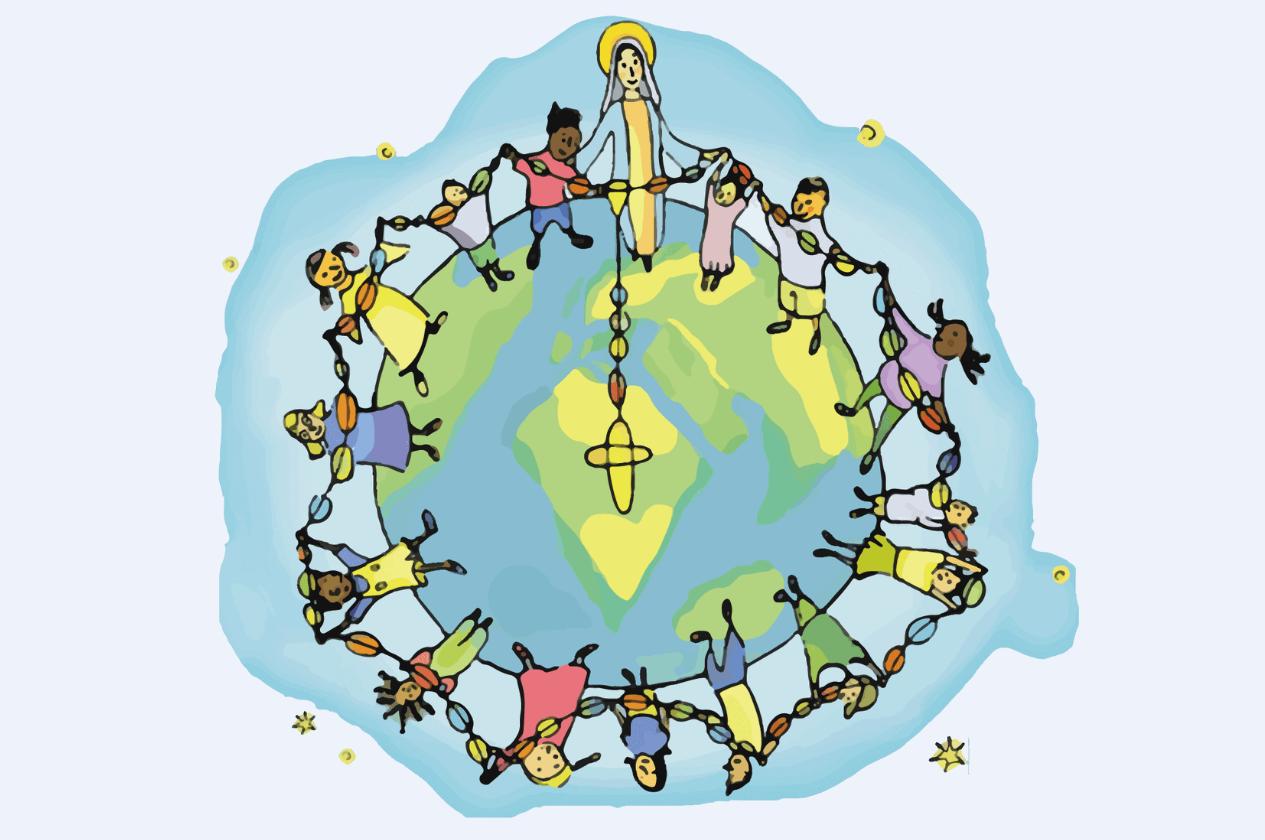 18 октября пройдет всемирная акция «Миллион детей молится Розарием». В ней примут участие и католические приходы России