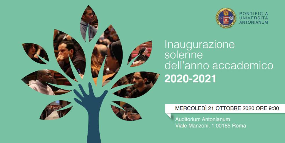Смотрите в прямом эфире церемонию открытия нового учебного года в Папском Антонианском Университете