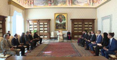 Завершился визит комитета МАНИВЭЛ в Ватикан