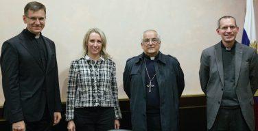 Апостольский нунций архиепископ Джованни Д'Аниелло прибыл в Россию