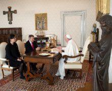 Святейший Отец встретился с президентом Красного Креста