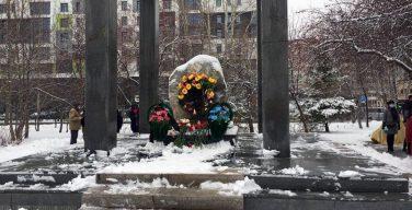 В Новосибирске открыли монумент жертвам репрессий