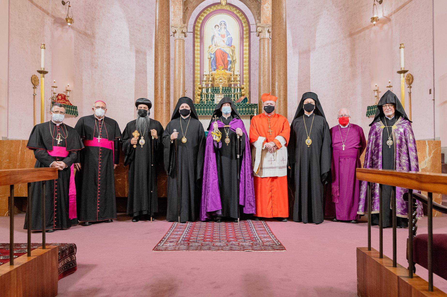 Христианские лидеры США приняли участие в экуменической молитве о мире в Нагорном Карабахе