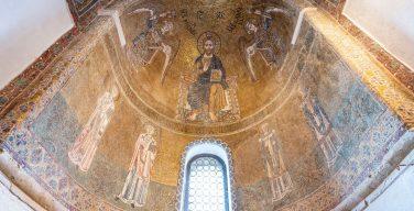 Древнейшие венецианские фрески найдены во время реставрации мозаик базилики на острове Торчелло