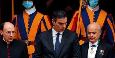 Папа встретился с главой правительства Испании
