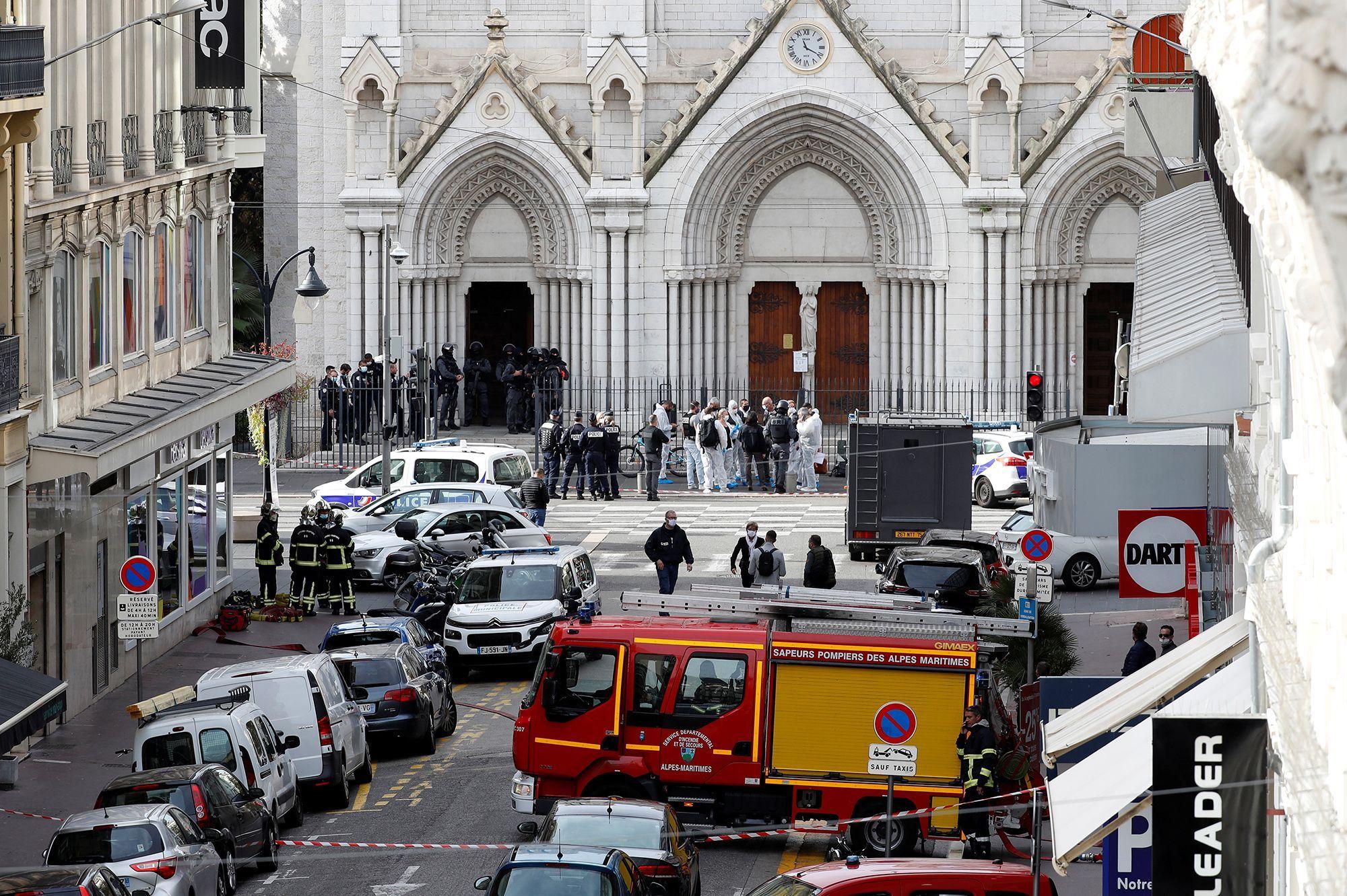 Священник из Ниццы заявил о получении предупреждений о нападении
