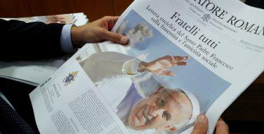 Папа: братство и забота о творении — единственный путь развития и мира