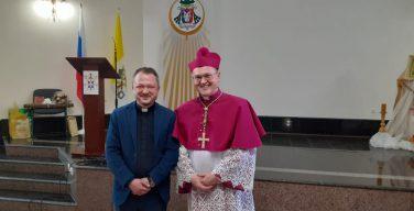 «Аксиос!» Новохиротонисанному епископу передали приветствие из Сибири