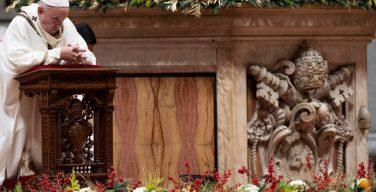 Рождественская литургия Папы пройдет в этом году без присутствия народа
