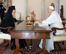 Патриарх Варфоломей встретится с Папой Франциском