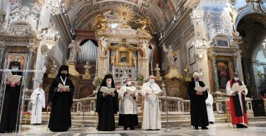 Папа: любовь – это путь к зримому христианскому единству