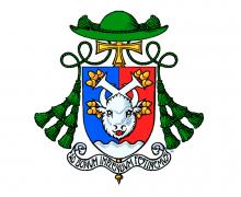Описание герба вспомогательного епископа Архиепархии Божией Матери Николая Дубинина