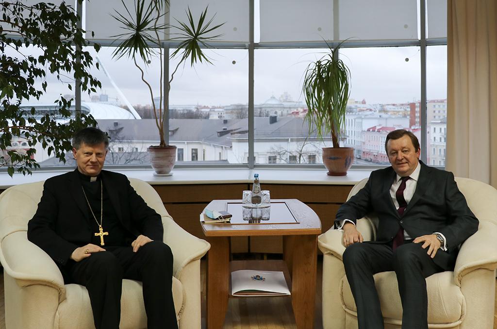 Минск и Ватикан подтвердили взаимную заинтересованность в активизации сотрудничества