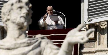 Слово Папы Франциска перед чтением молитвы «Ангел Господень» в торжество Всех Святых. 1 ноября 2020 г., площадь Св. Петра