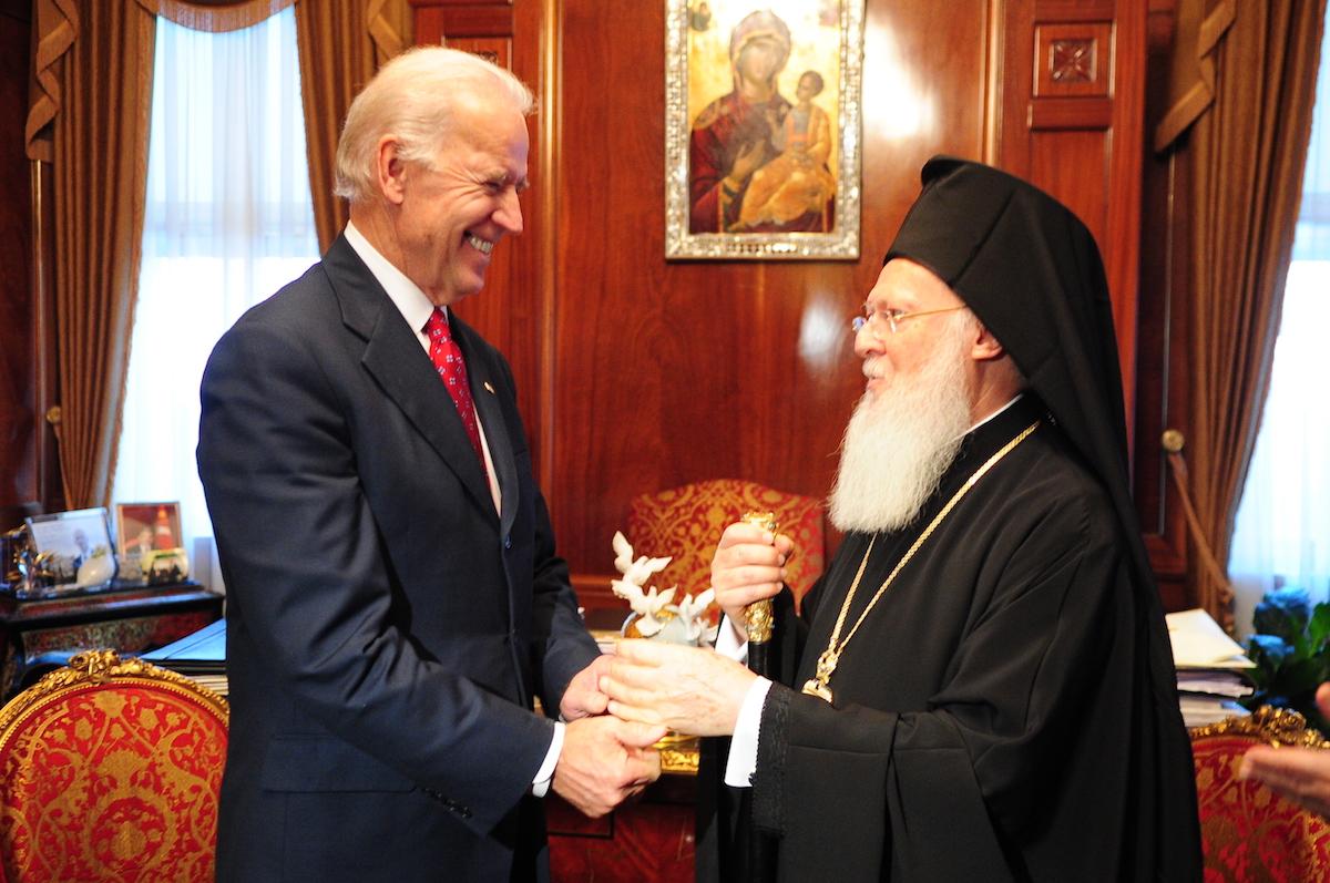 Вселенский Патриарх — Байдену: граждане всего свободного мира приветствуют вашу победу