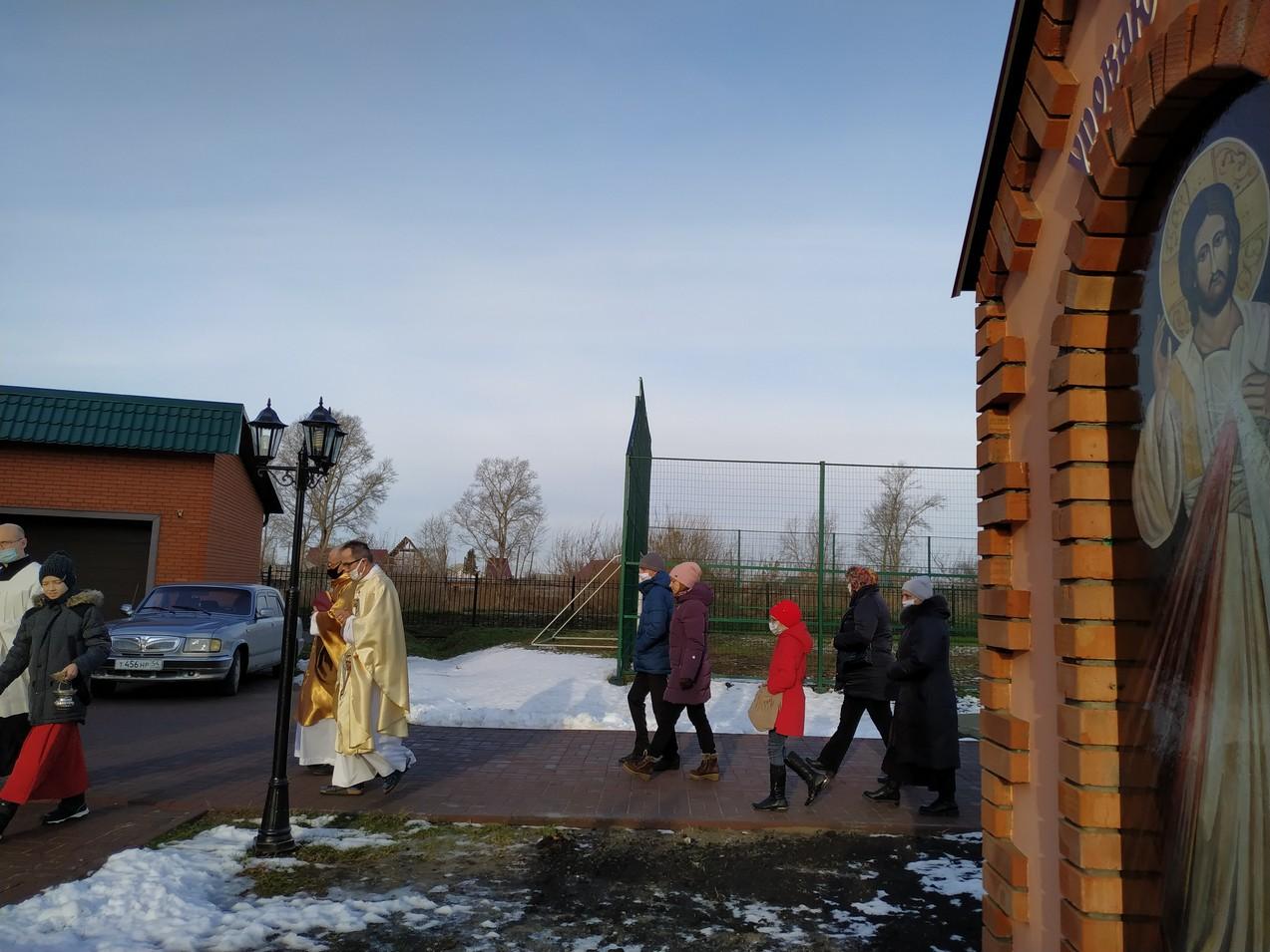 Торжество Всех Святых в приходе Святых Апостолов Петра и Павла в Куйбышеве-Каинске