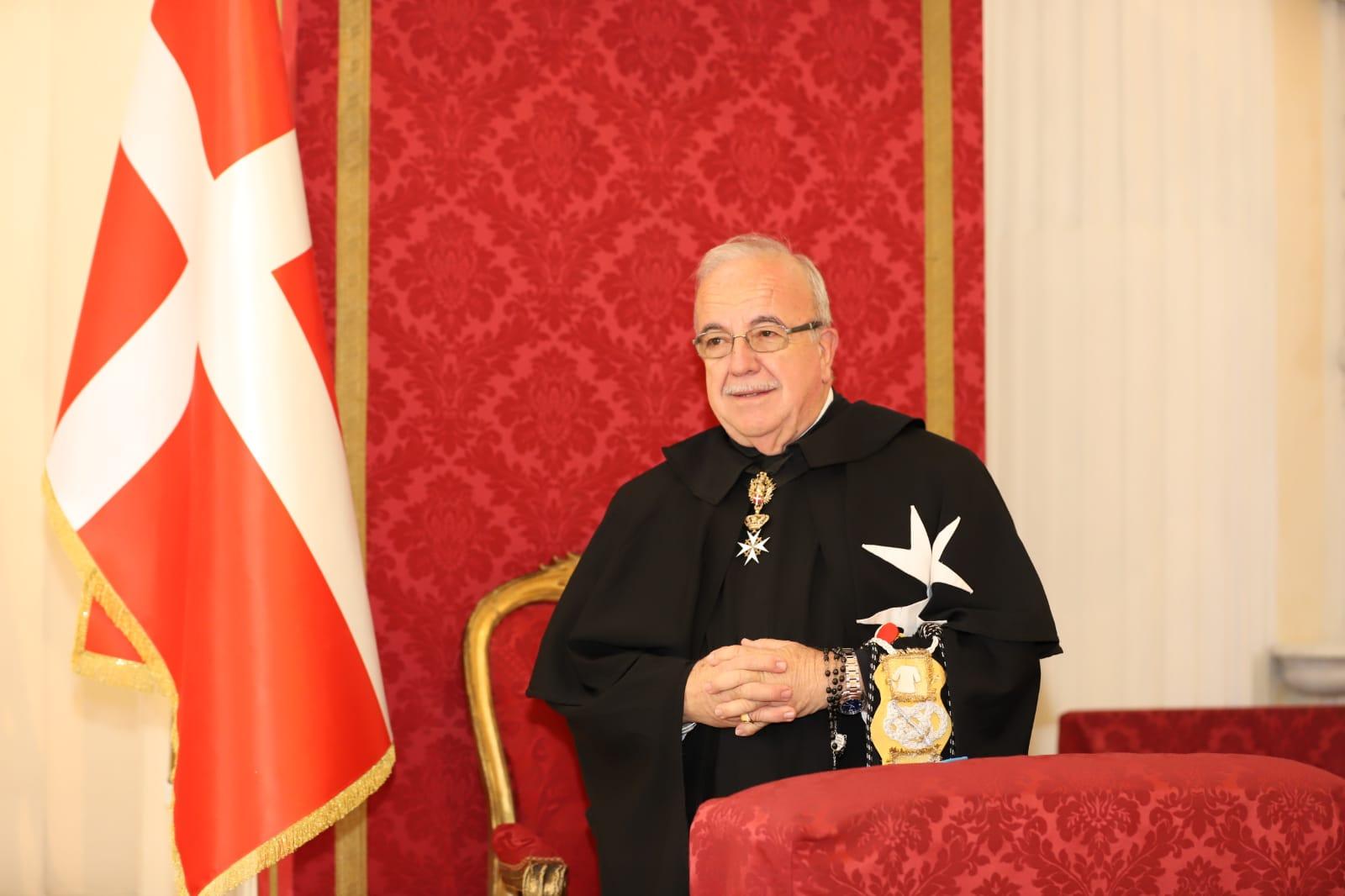 Избран местоблюститель великого магистра Мальтийского ордена