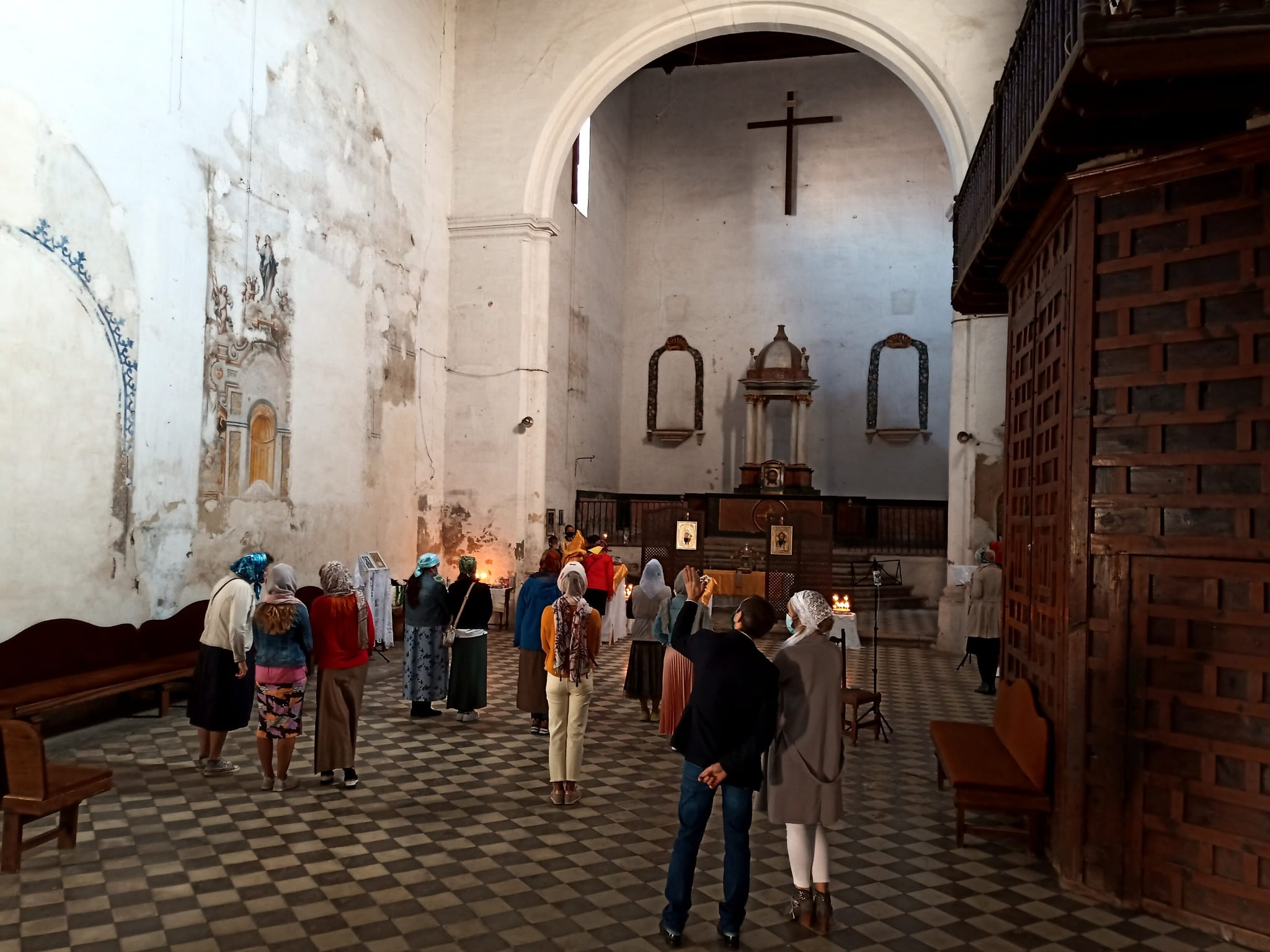 Первое православное богослужение совершено в католическом храме в Гранаде
