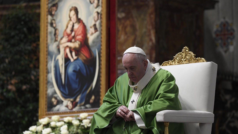 Папа на воскресной Мессе: «Бедные гарантируют нам вечный доход» (ФОТО + ВИДЕО)